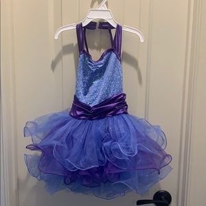 Girls dance tutu